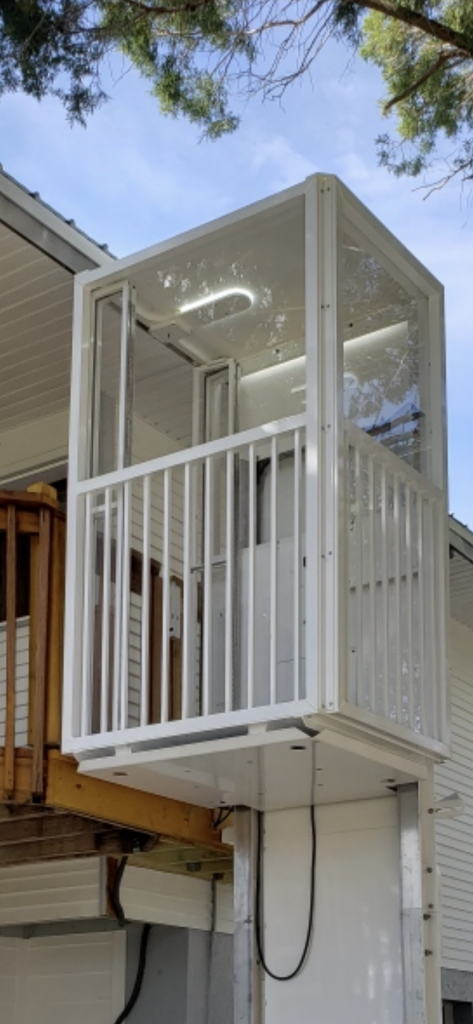 Outdoor Elevator by Home Lift Store